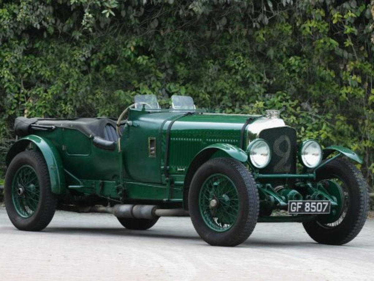 10 - 1930 Bentley Speed Six - $5.1 million