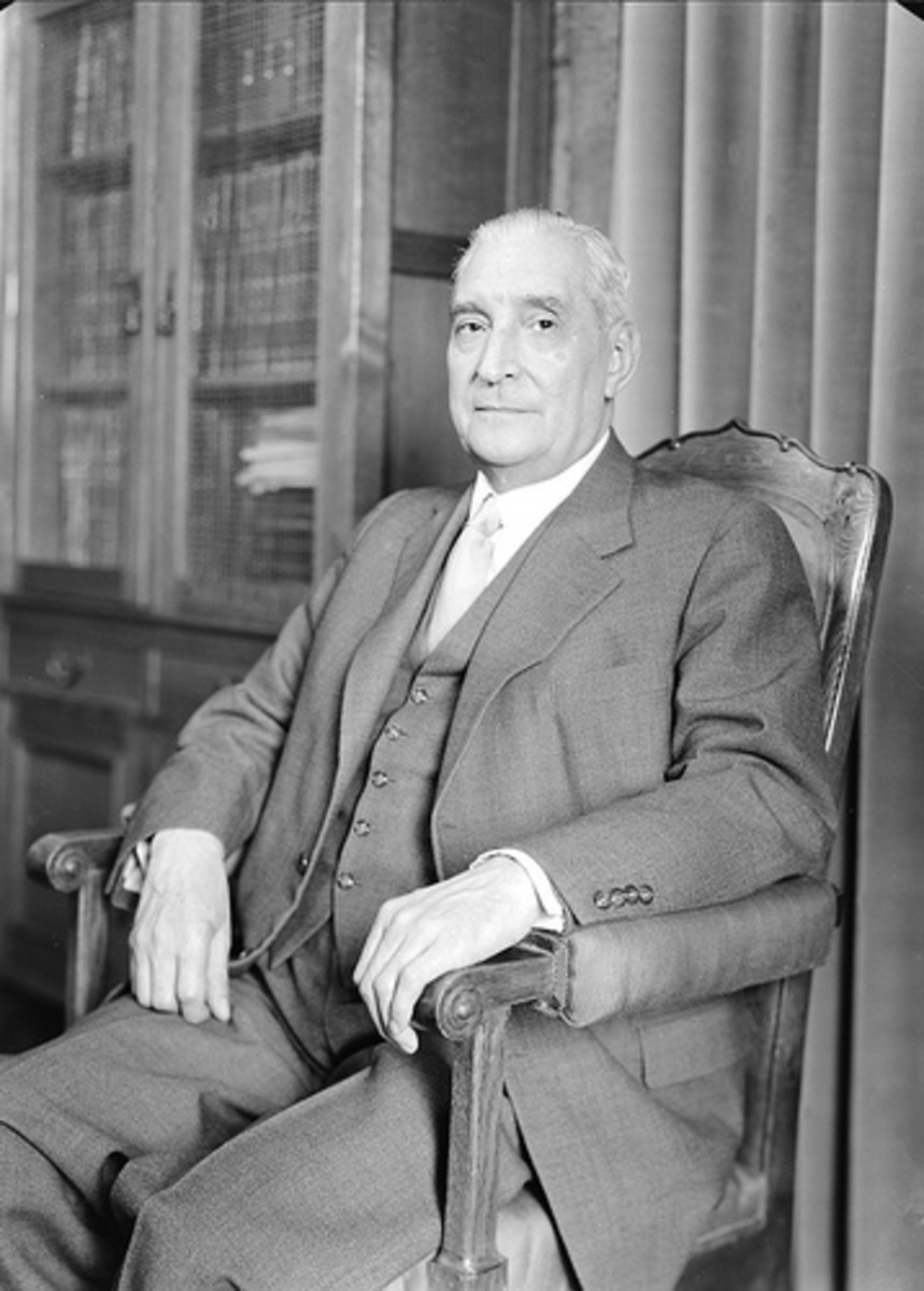 Antnio de Oliveira Salazar - Prime Minister of Portugal from 1932 to 1968.
