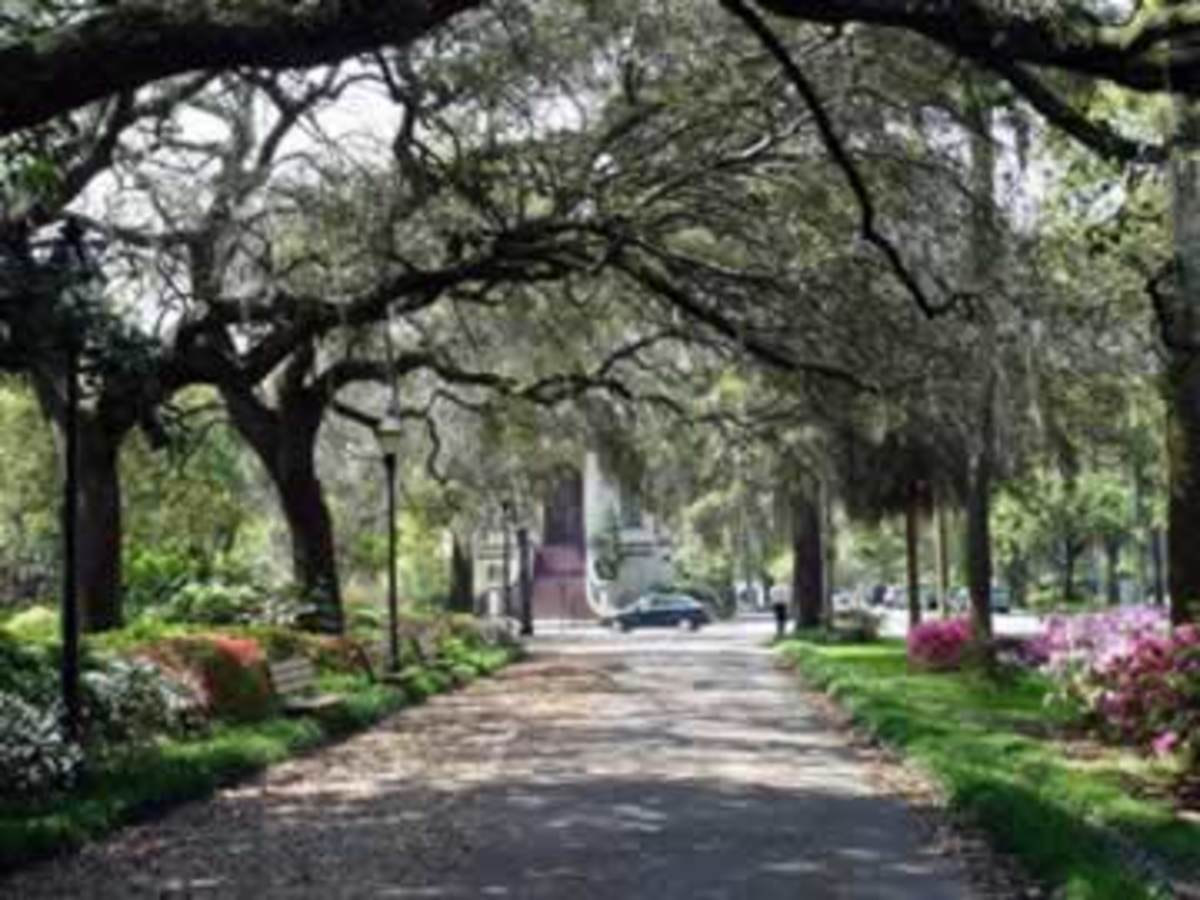 Haunted Savannah Georgia