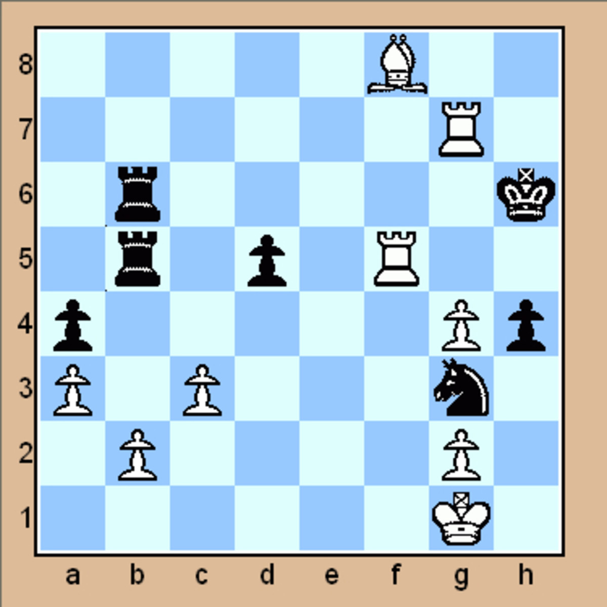 Please scroll down to check out the intermediate chess puzzles.