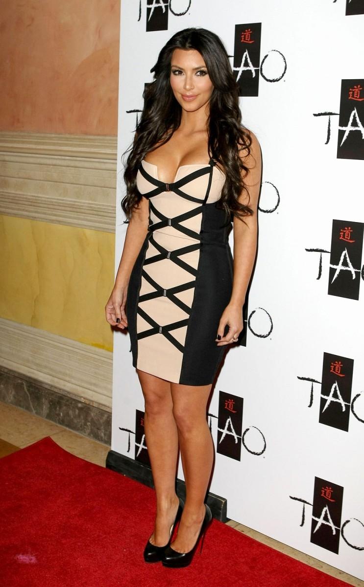 Kim Kardashian at Tao