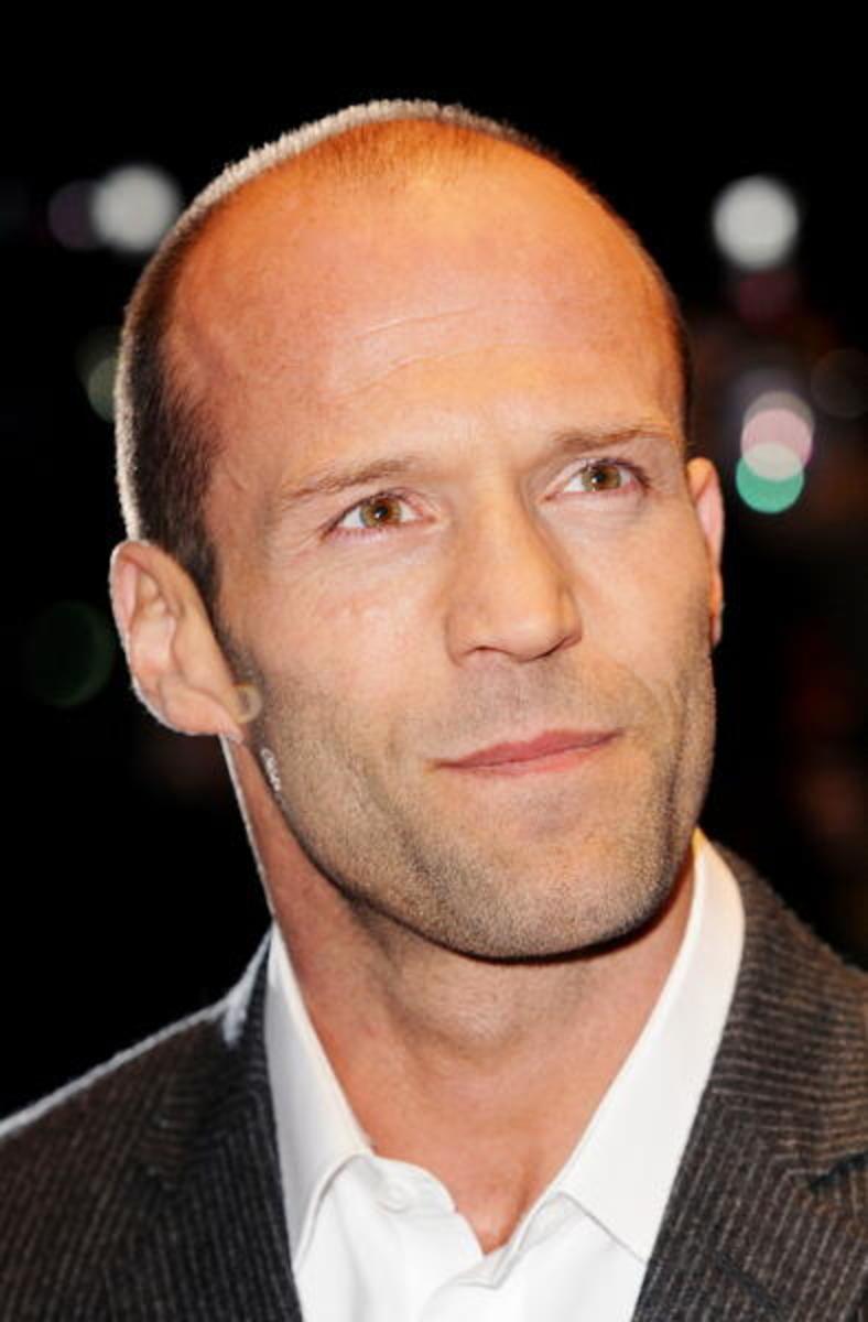 Jason Statham bald