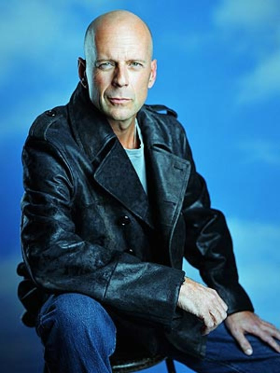 Bruce Willis Bald
