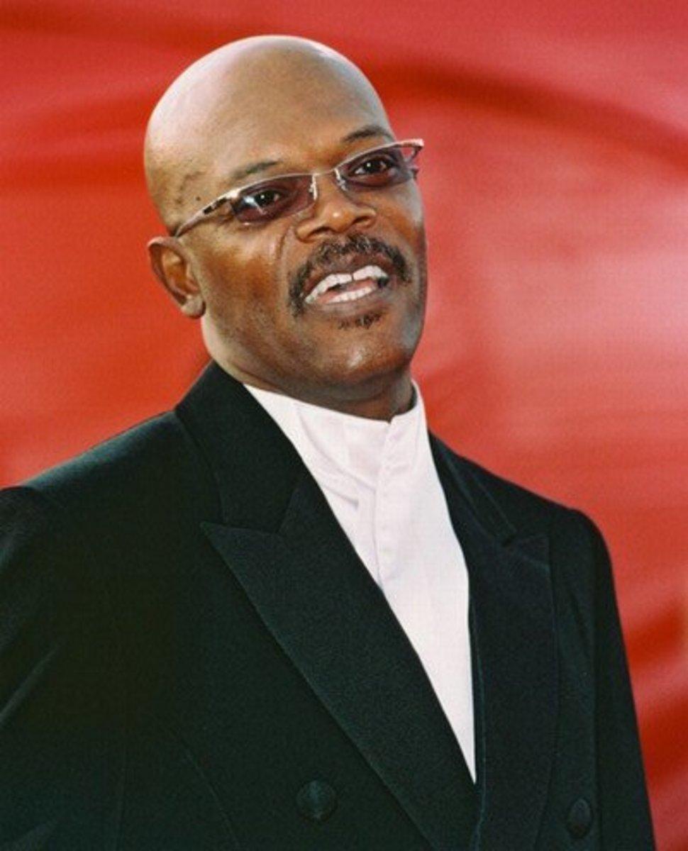 Samuel L Jackson Bald