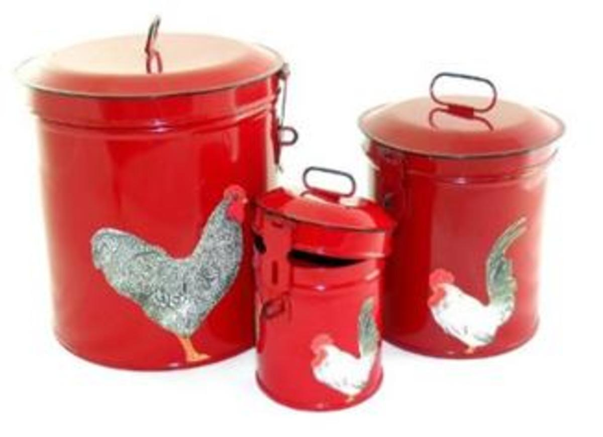 Red Country Canisters