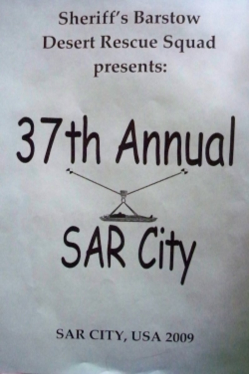 SAR City: A Search And Rescue Conference in Barstow, California