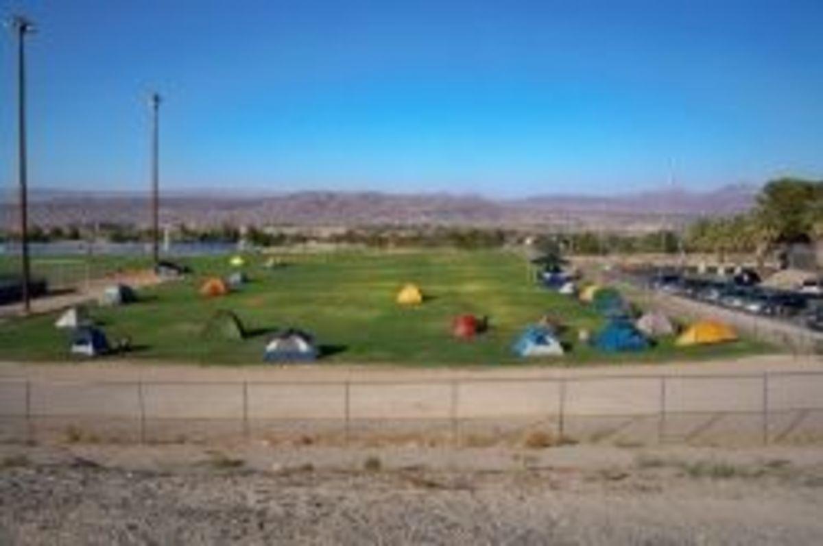 Camping at SAR City
