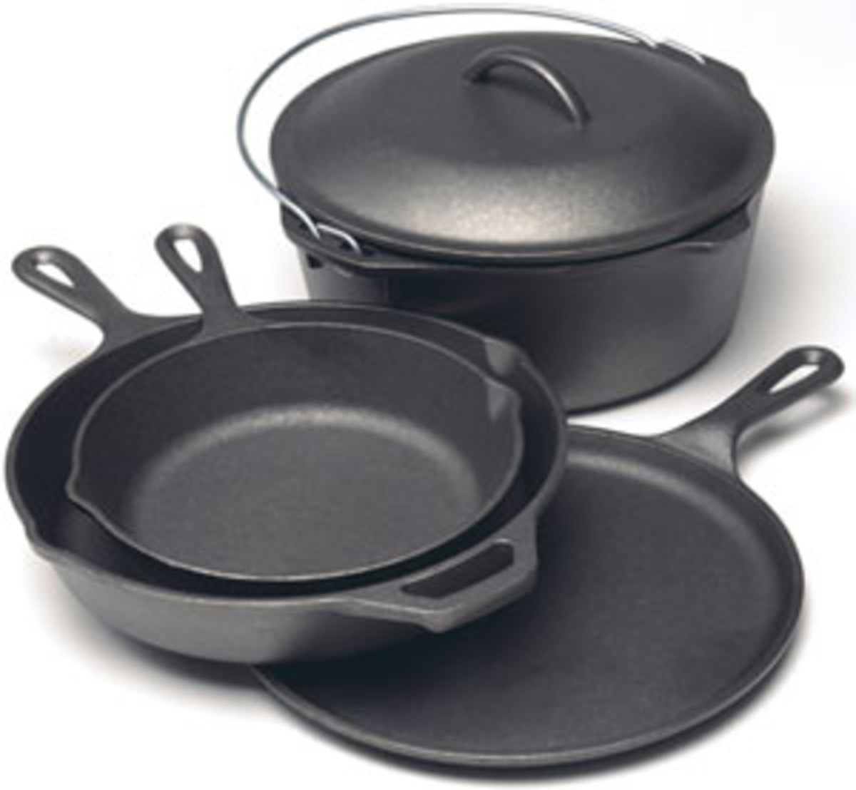 Outdoor Camping Cast Iron Cookware Sets