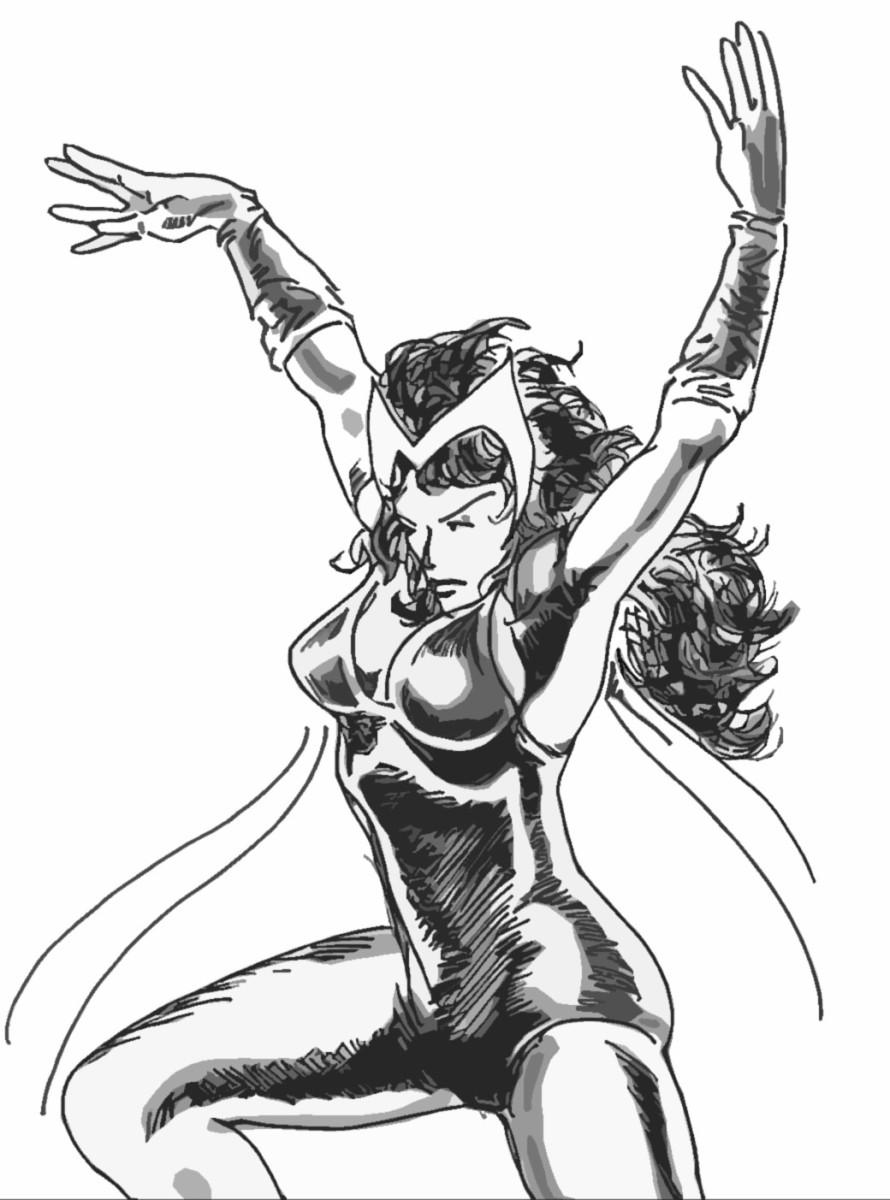 Marvel Comics' Scarlet Witch