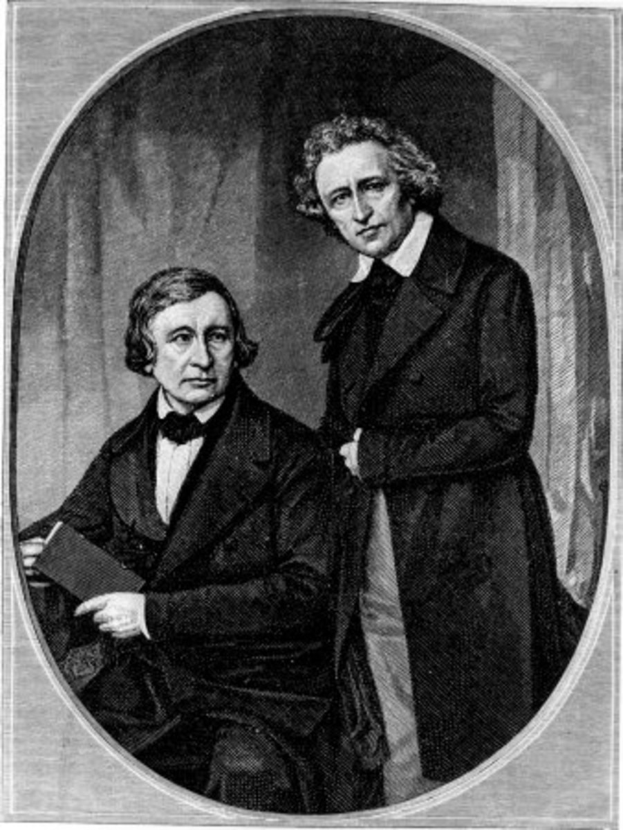 Jacob and Wilhelm Grimm    (aka the Brothers Grimm or Grimm Brothers)