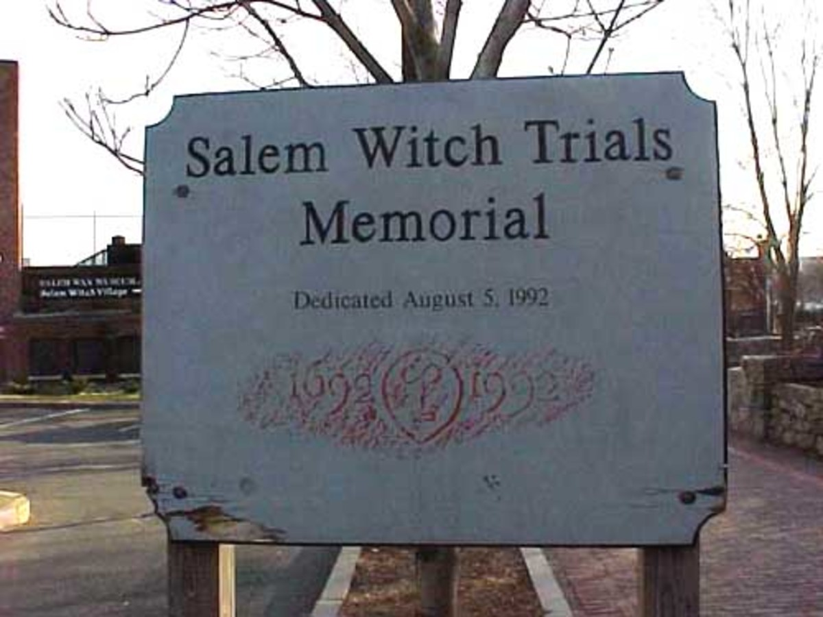 Salem Witch Trial Monument