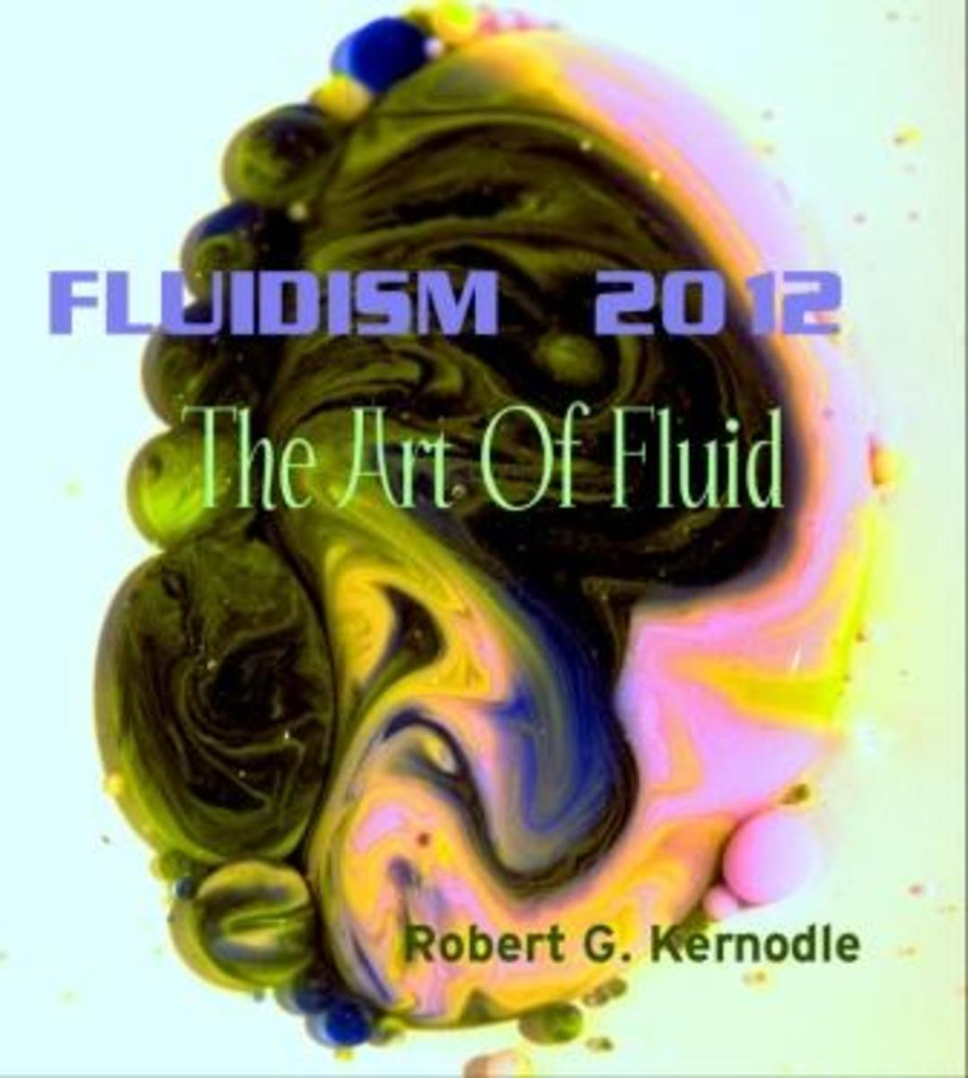 Forthcomming FLUIDISM 2012 Wall Calendar by Robert G. Kernodle