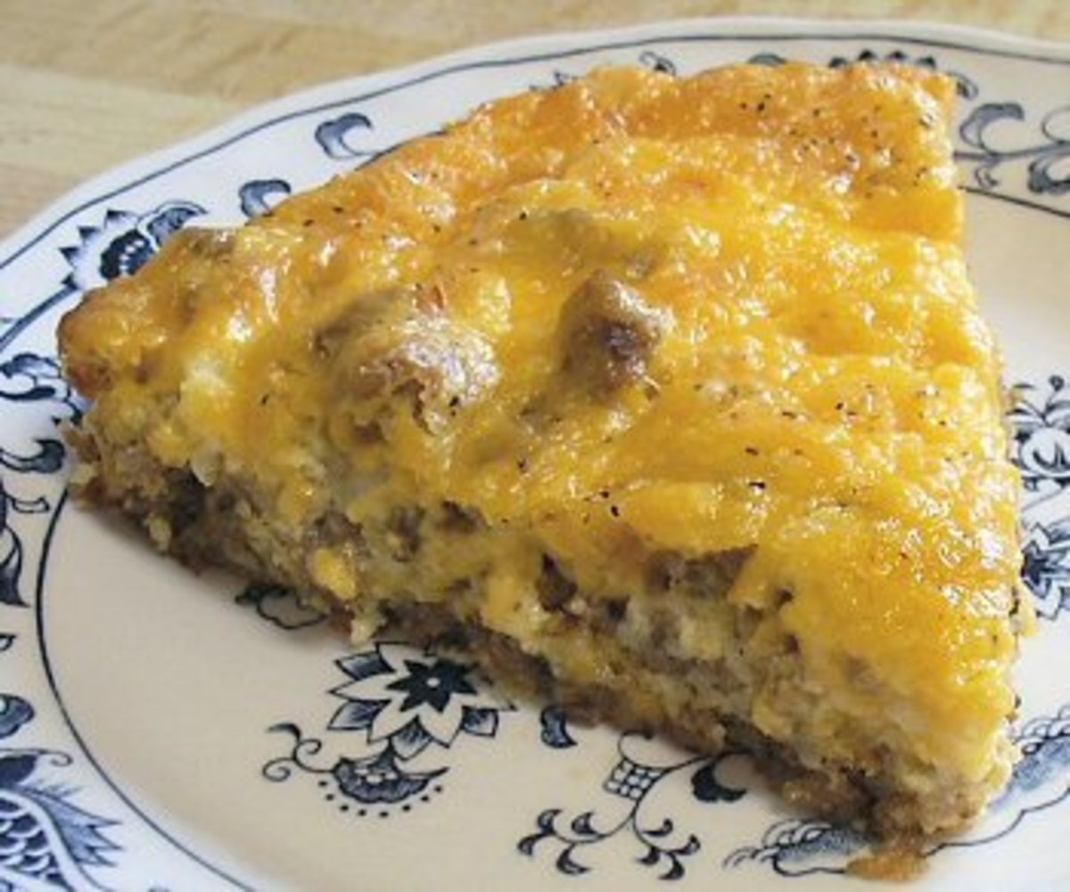 Here is truly one of the most delicious Hamburger Pies you will ever eat. If your looking for really delicious ground beef recipes here is a great one.