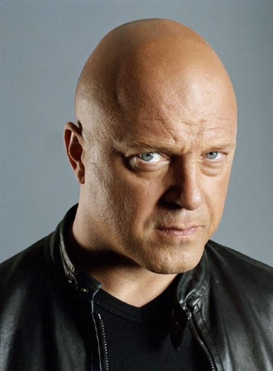 Michael Chiklis bald
