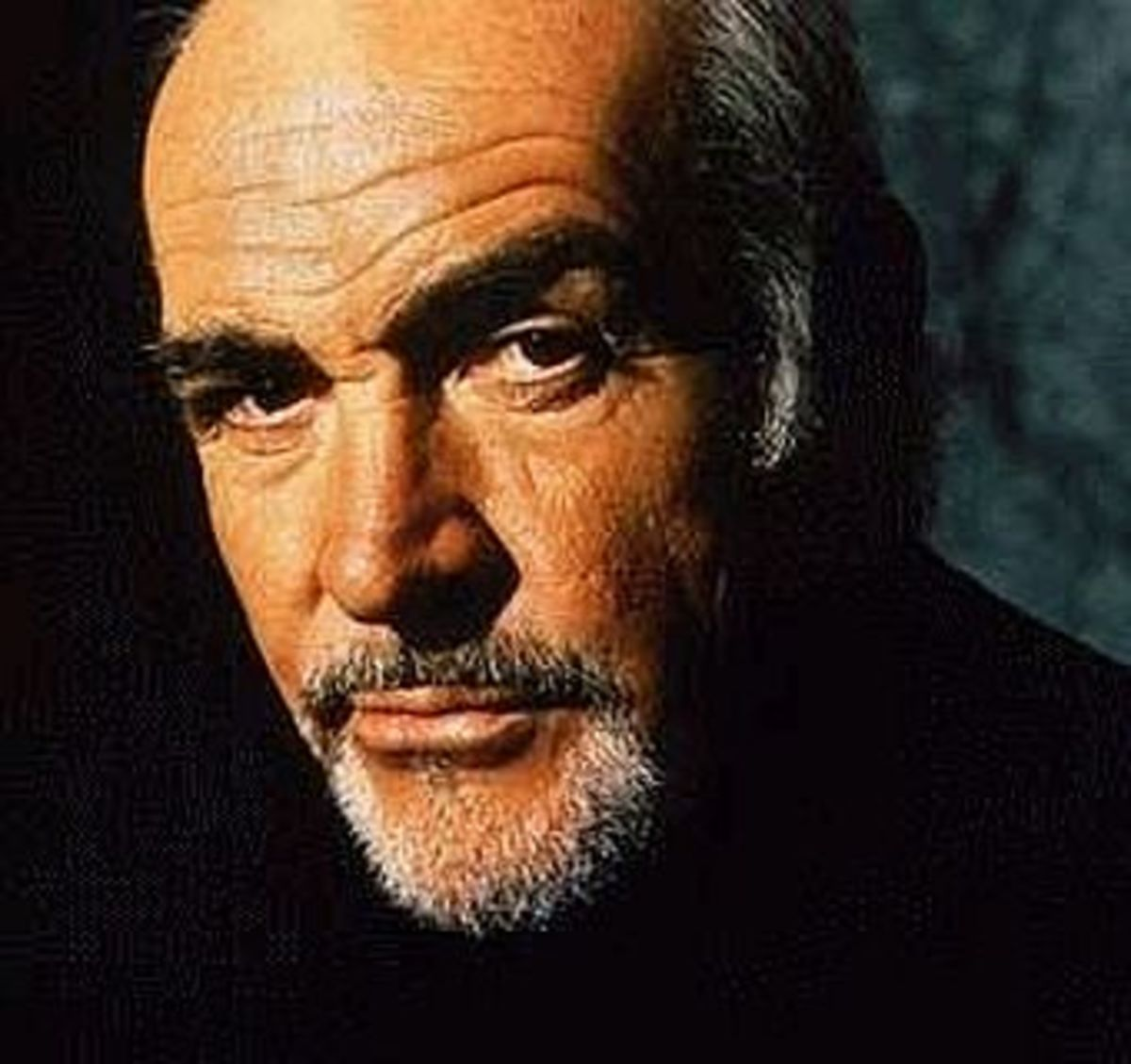 Sean Connery bald