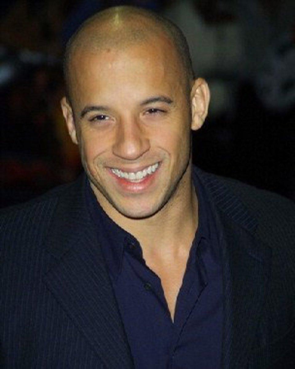 Vin Diesel Bald