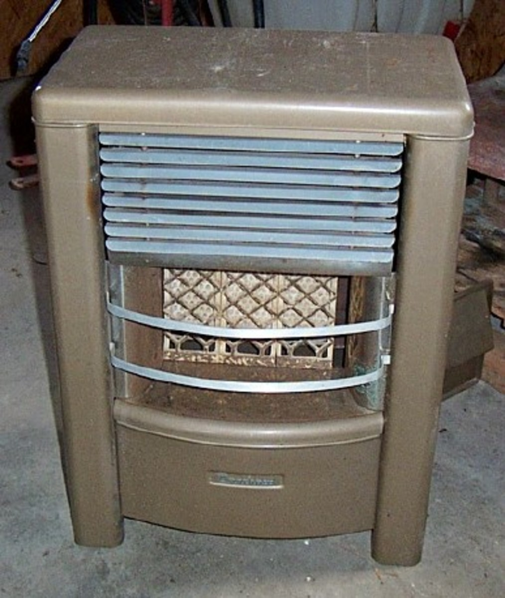 This Dearborn heater is almost identical to the one at my mother's house that I grew up around.