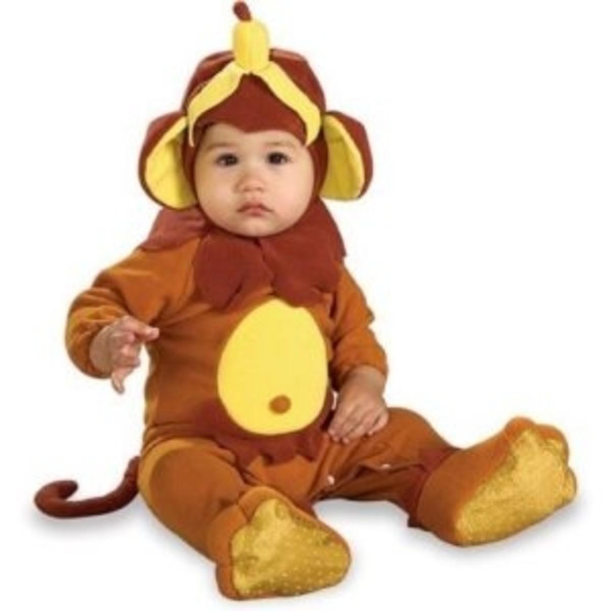 Monkey Costume - Infant Monkey Costume - Monkey See Monkey Do