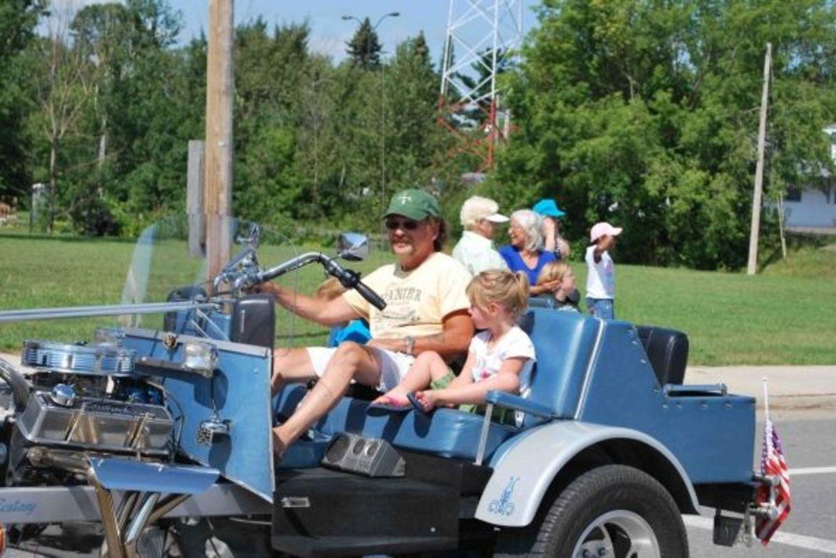 Russ's grandkids enjoyed this ride