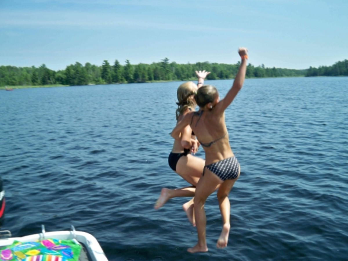 "I call this ""Jump in the Lake"" courtesy Elisa Winterland"