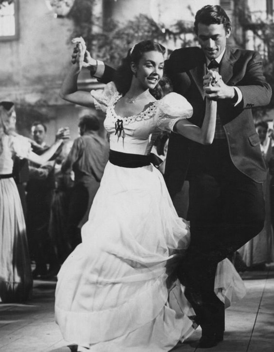 "Jennifer Jones, Gregory Peck in ""Duel in the Sun"""