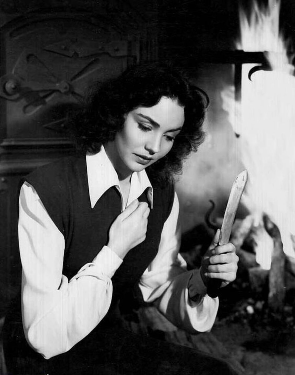 "Jennifer Jones in ""Love Letters"""
