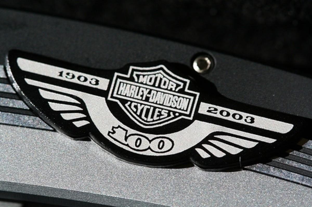 harley davidson 100th anniversary logo
