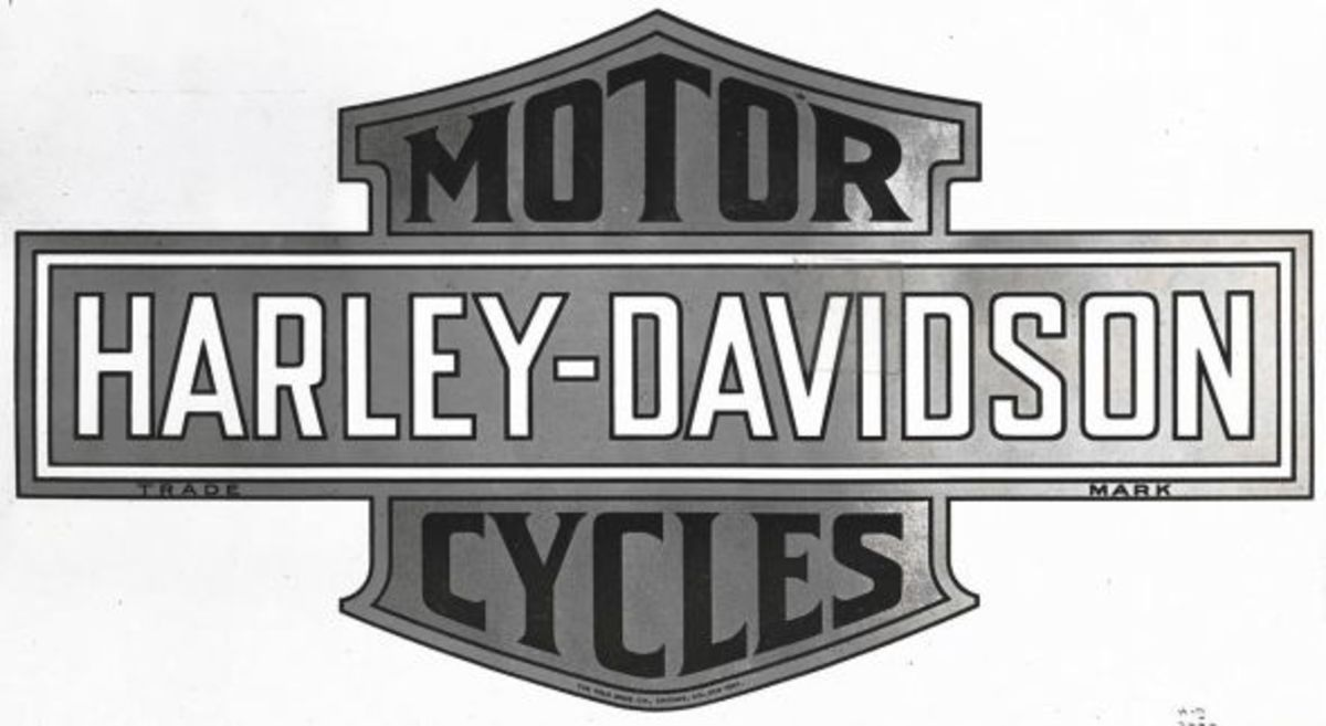 First Harley Davidson logo
