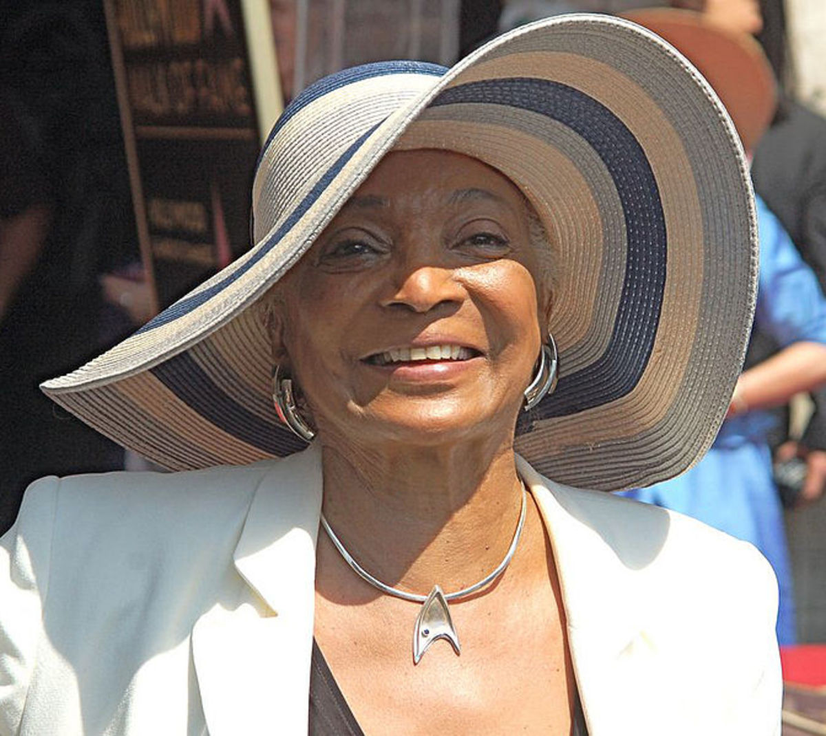 Nichelle Nichols in 2012 at age 81. She recuited astronauts for NASA in the 1970s and 1980s.