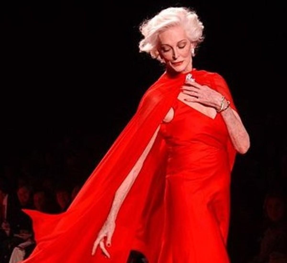 Carmen at age 74.
