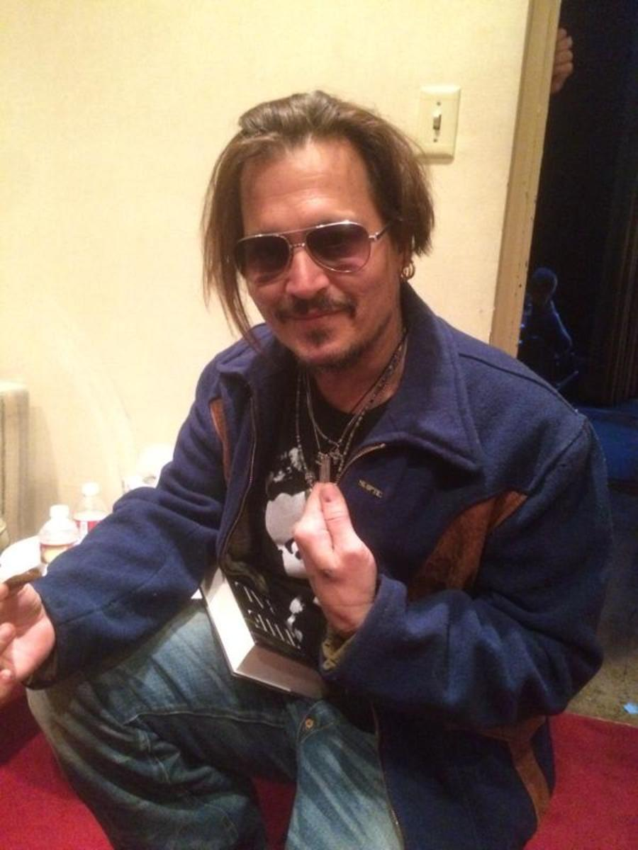 Johnny Depp atheist