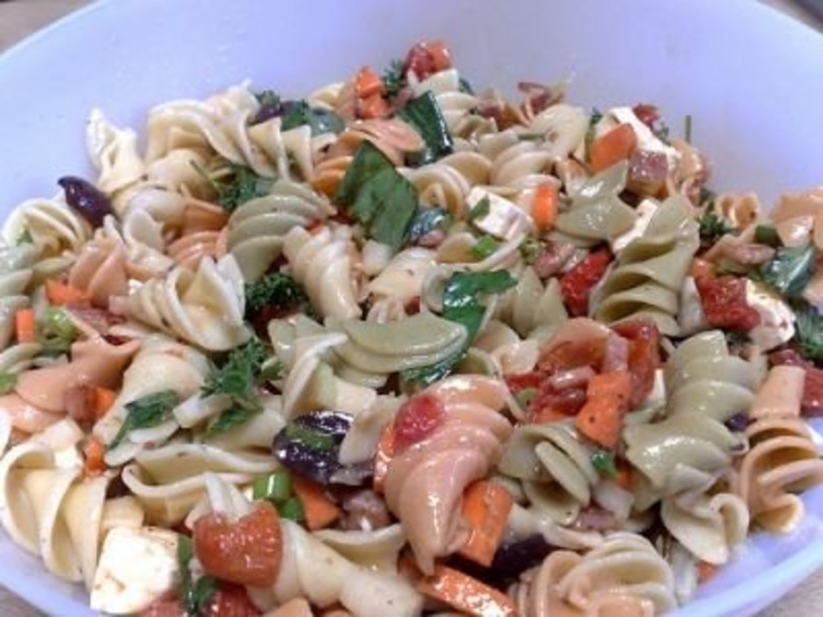 Low sodium cooking just got easier with this pasta salad