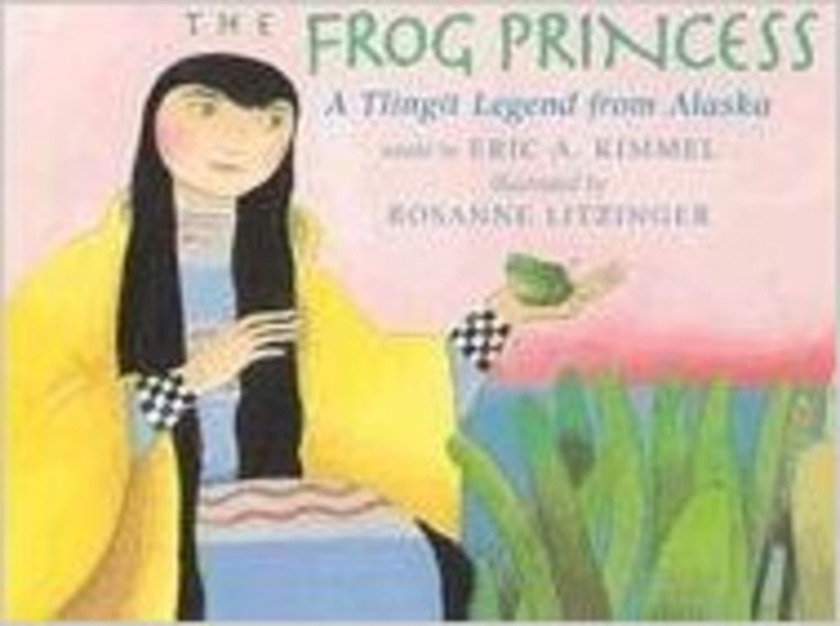 The Frog Princess: A Tlingit Legend from Alaska by Eric A. Kimmel