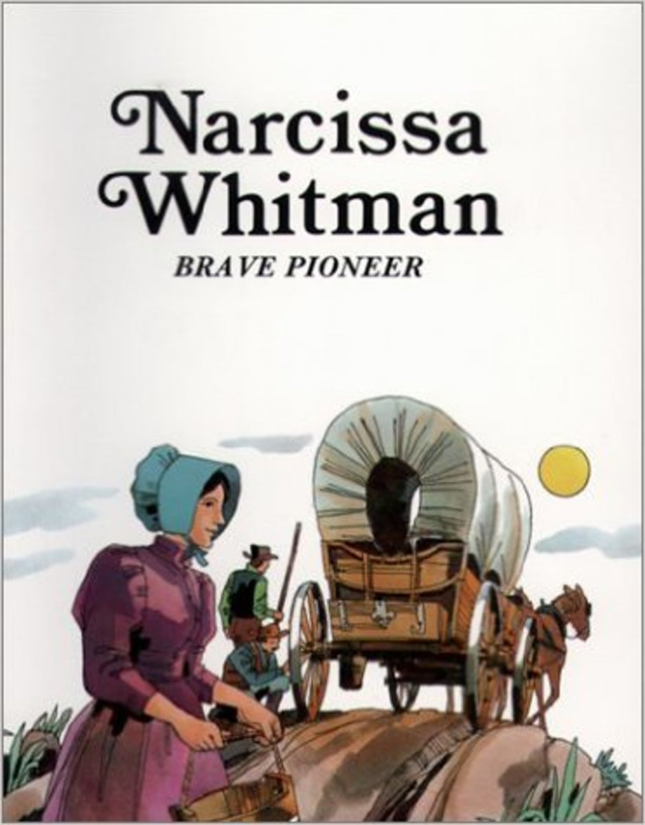 Narcissa Whitman : Brave Pioneer (Easy Biographies) by Sabin (the only picture book)