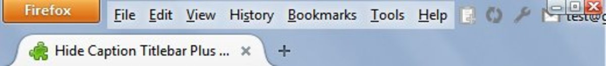 The title bar is hidden. Hooray!