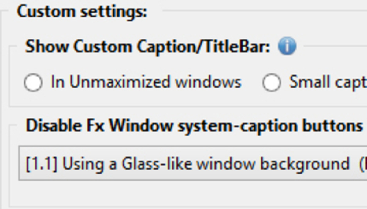Hide Caption Titlebar Plus offers a lot of tweaks for maximizing useful screen space.