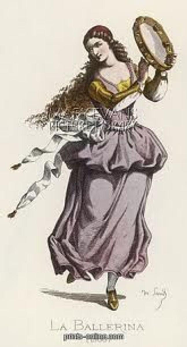 Ballerina, believed public domain