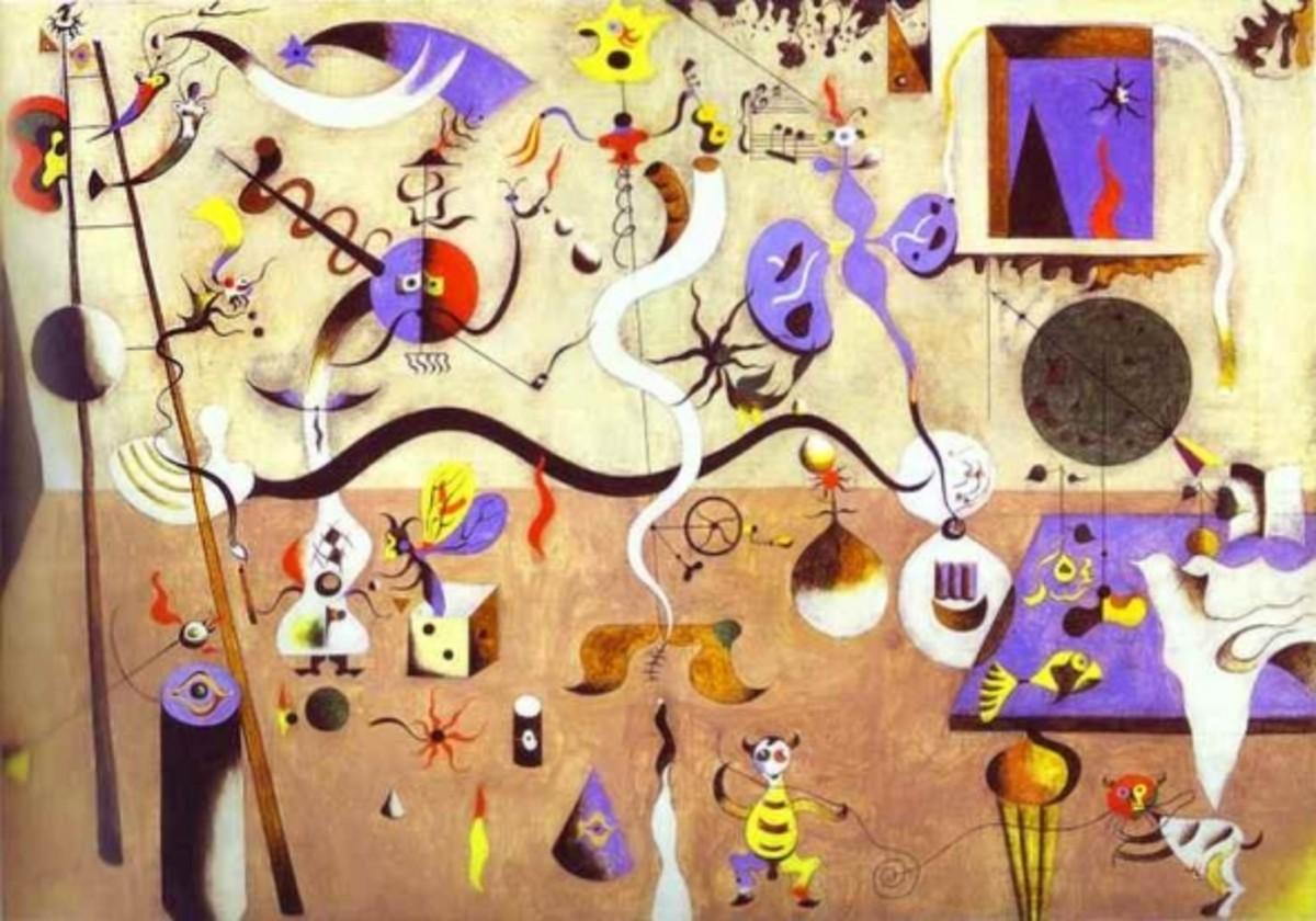 Carnival of Harlequin, by Joan Miro