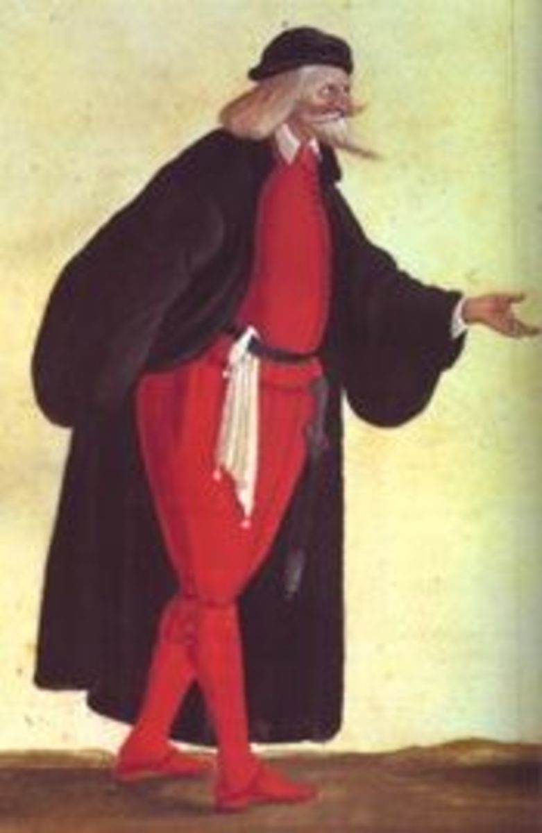 Pantelone, believed public domain image