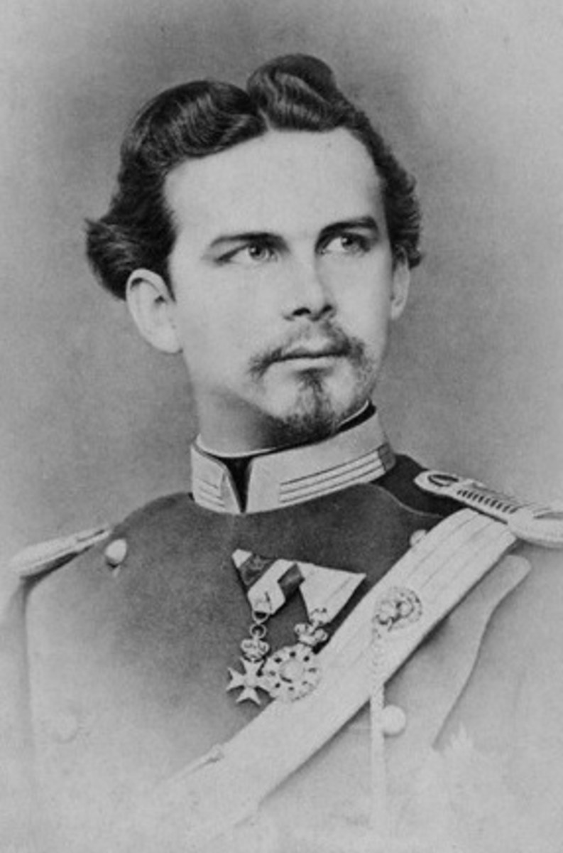 """Mad"" Ludwig II of Bavaria, Germany"