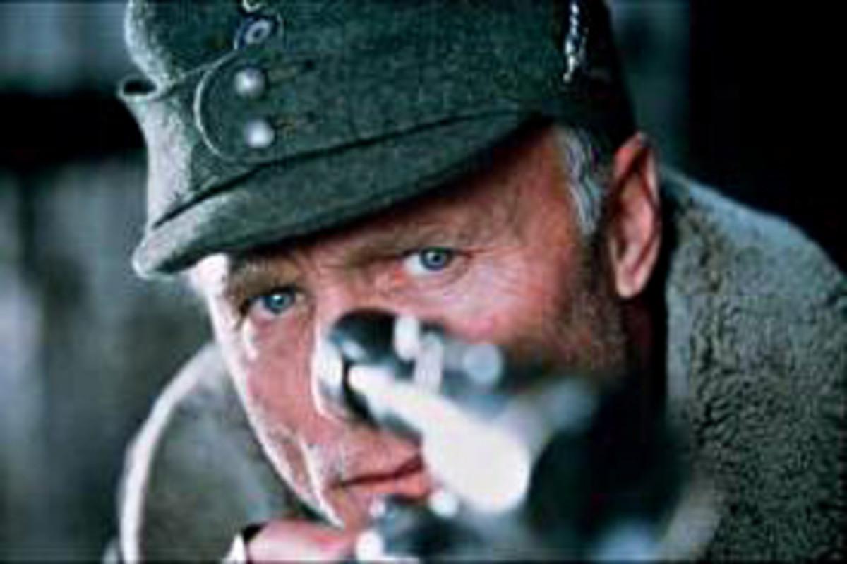 ..... and Major Erwin Koenig (Ed Harris)