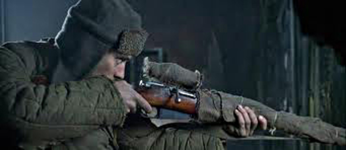 Vassili Zaitsev lines up another target