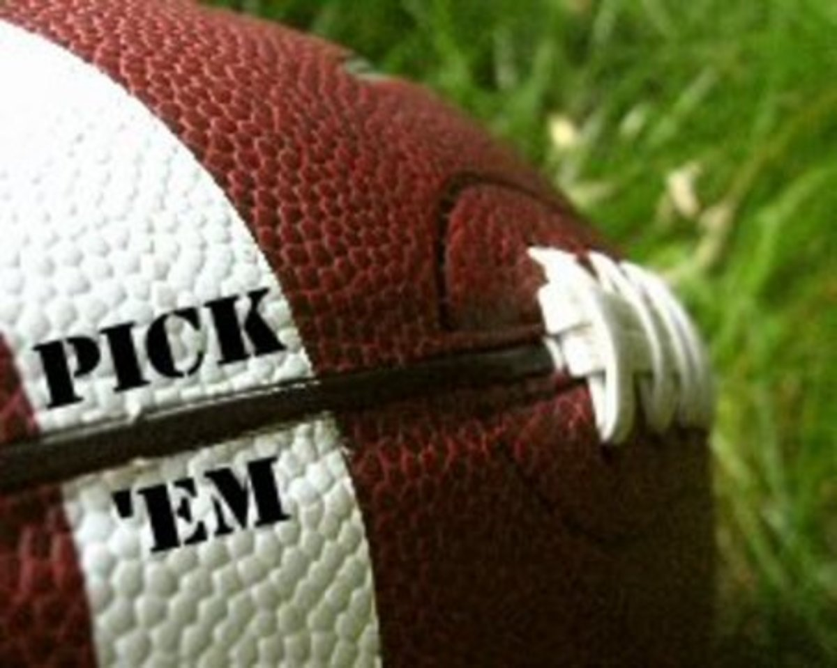 How To Select NFL Football Teams For Yahoo Pick 'em