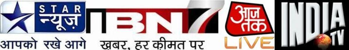 Popular Hindi News Channels