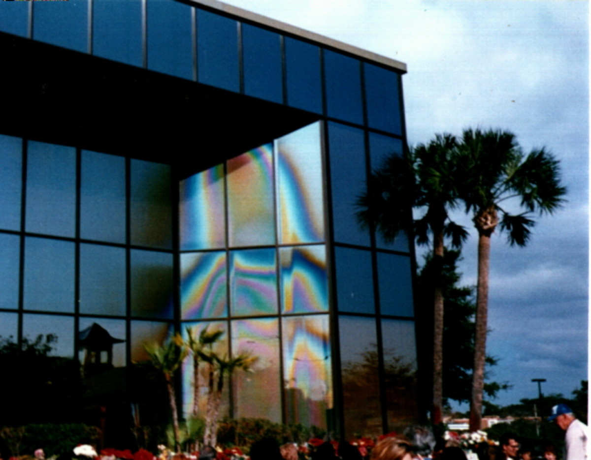 Virgin Mary Apparition In Clearwater Florida