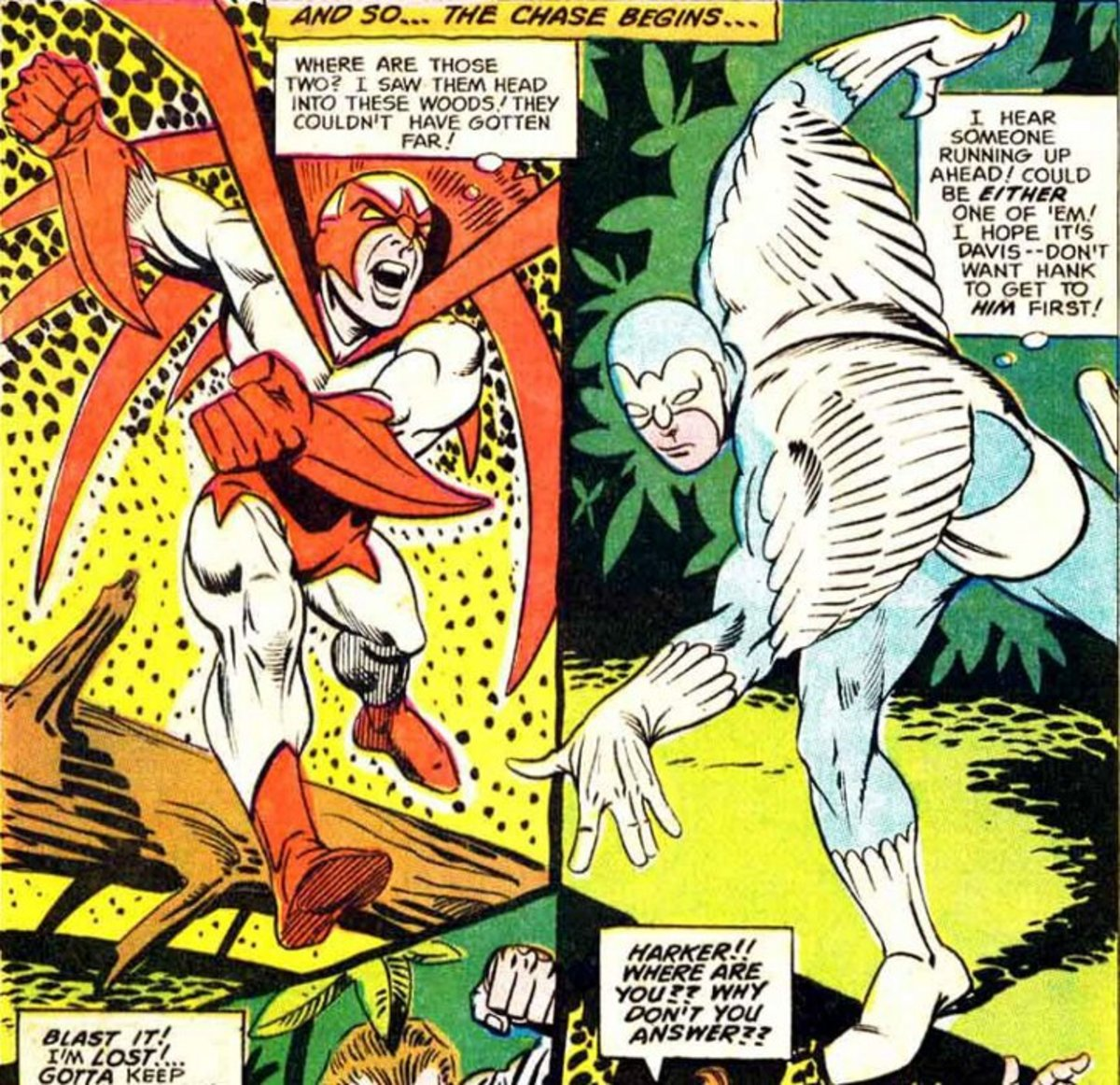 Hawk and Dove by Steve Ditko.