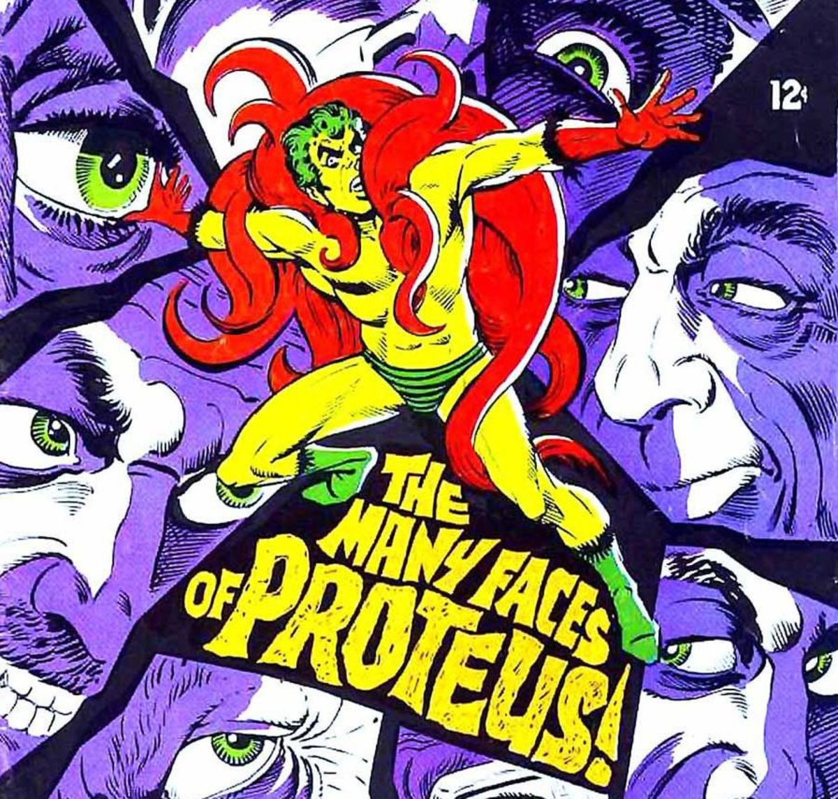 The Creeper by Steve Ditko.