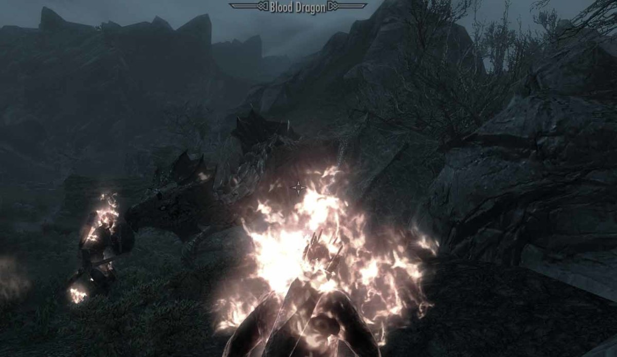 Skyrim Karthspire Blood Dragon Blocks Way to Sky Haven Temple