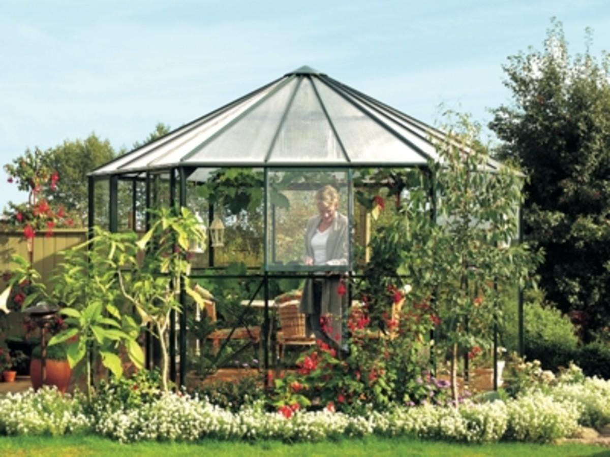 Vitavia Hera Octagonal Greenhouse