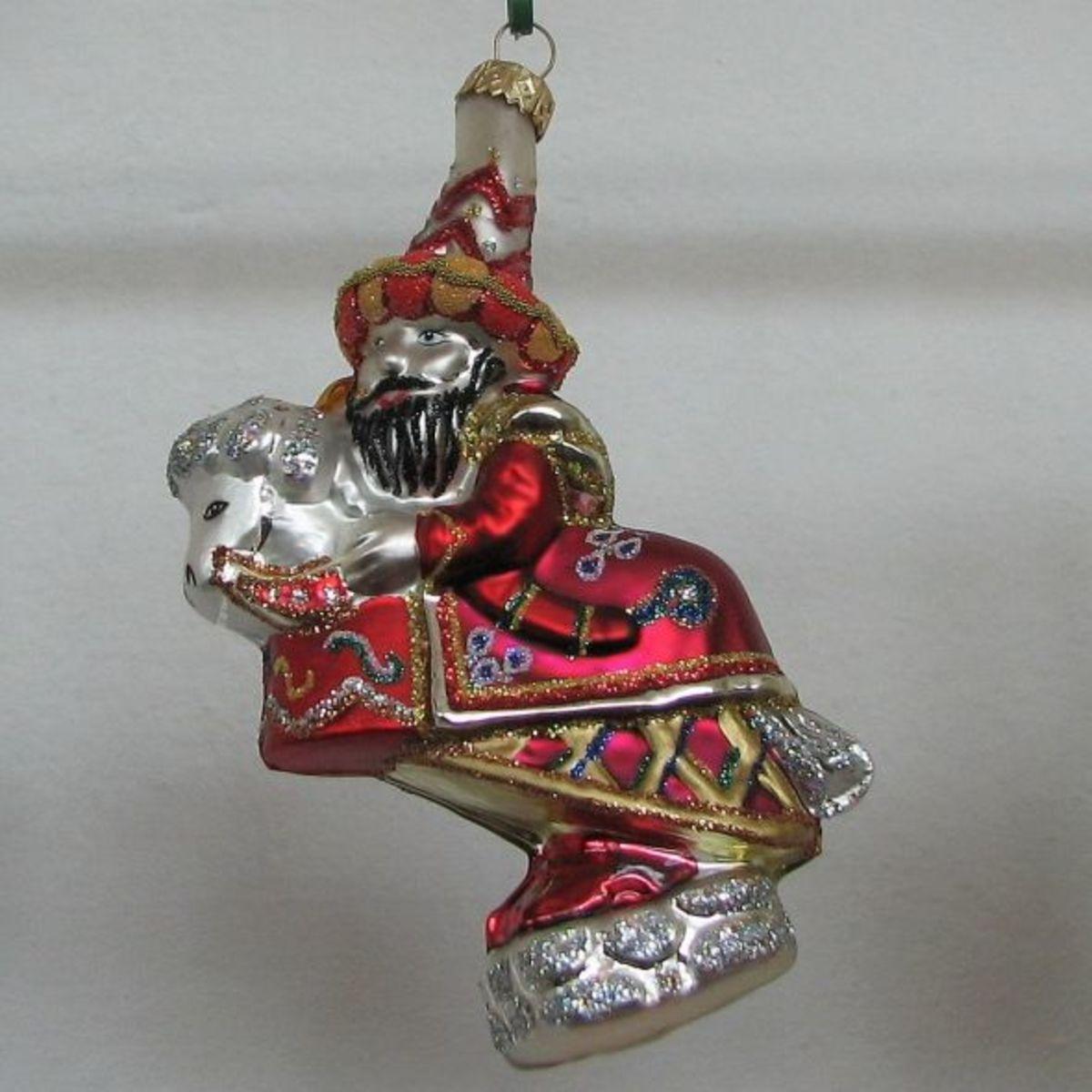 Lajkonik - from a Krakovian Tale -  Tartar Rider and His Horse